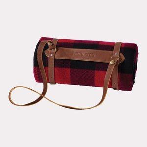 Pendleton Leather Blanket Carrier